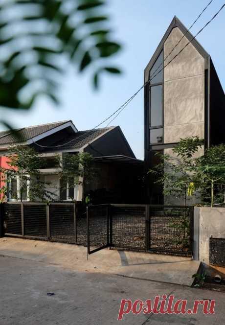 Пополнение в семье – увеличение квадратных метров: в Индонезии построили жилой дом, который хозяева могут в любой момент расширить (фото)