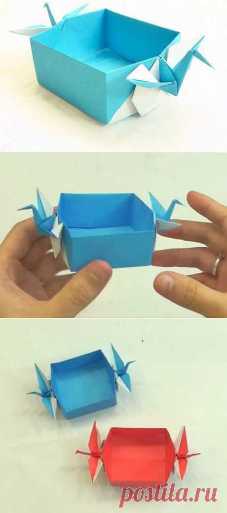 La cajita de grulla del diseñador Tadashi Mori