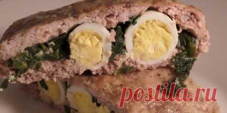 (+1) Мясной рулет с зелёным луком : Мясные блюда : Кулинария : Subscribe.Ru
