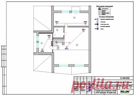 Проект электрики дома пример 565