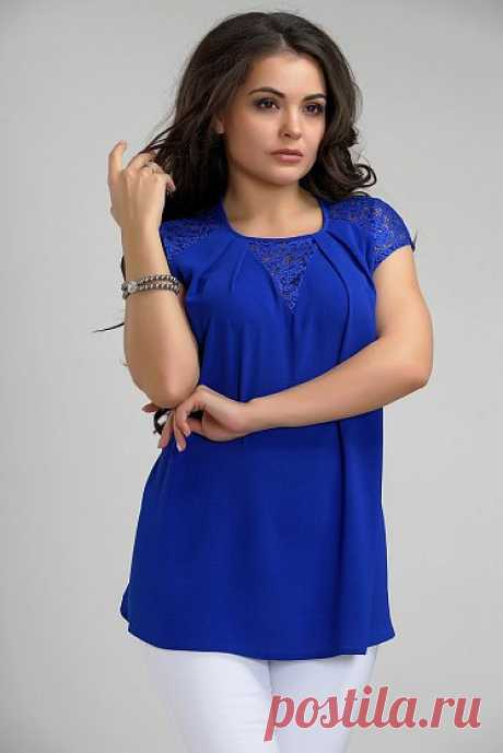 Каталог женской одежды в Москве, красивая женская одежда с бесплатной доставкой цвет - Васильковый