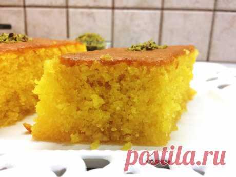 Рецепт вкуснейшего пирога из манки Ревани (Revani) | Блоги о даче и огороде, рецептах, красоте и правильном питании, рыбалке, ремонте и интерьере