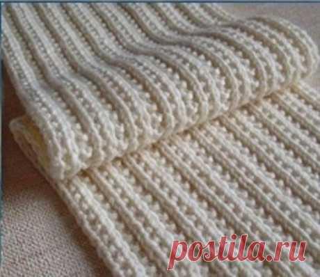 Фигурная резинка для шарфа