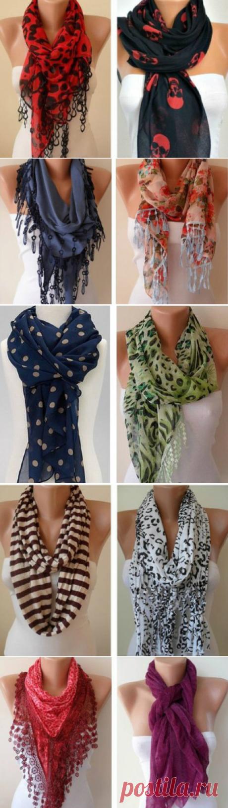 Как правильно носить женский шарф: 58 лучших вариантов!   Мир красоты