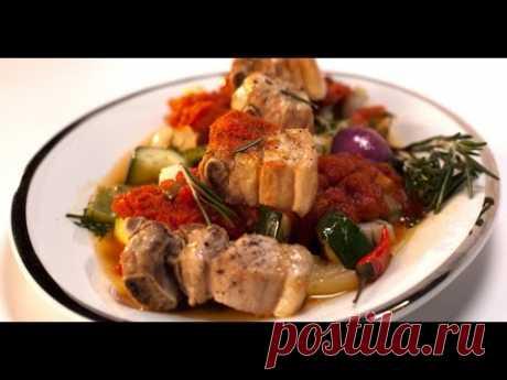 Свиные ребрышки в кисло-сладком соусе | Мясо. От филе до фарша