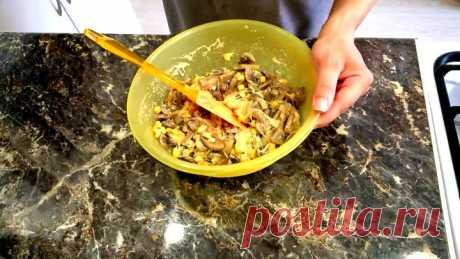 Салат Пандора. Салат с грибами и сыром. Салат с грибами и кукурузой