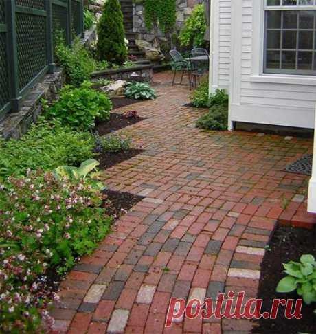 Как сделать садовую дорожку на даче | Секреты строительства | Яндекс Дзен
