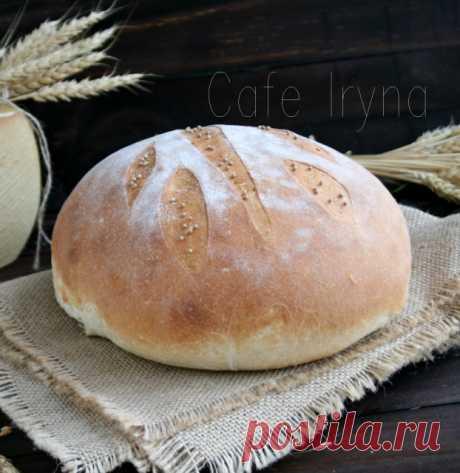 Хлеб на ночной опаре — Cafe Irina