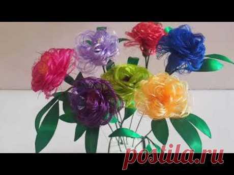Las rosas de la cinta satinada