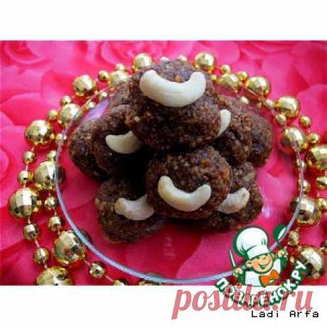 Ладду - блюдо восточных сладостей из нута