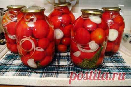 Самый вкусный рецепт маринованных помидоров на зиму - Вкусные рецепты что приготовить