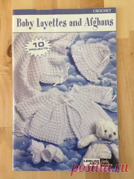 Crochet Pattern Book Baby Layettes and Afghans от ValleyofCrafts