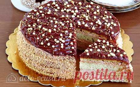 Сметанный торт «Полюшка» пошаговый рецепт с фото