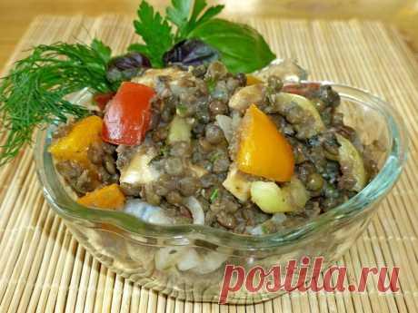 Салат из чечевицы вкусный и простой рецепт с фото пошагово - 1000.menu