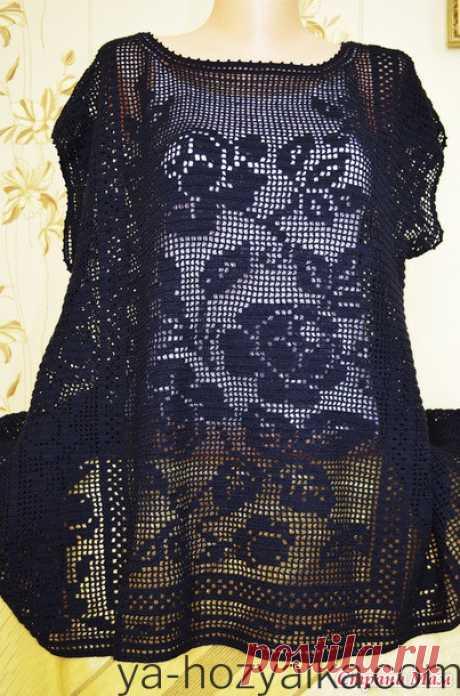 Филейное вязание крючком схемы модели. Одежда в филейной технике схемы