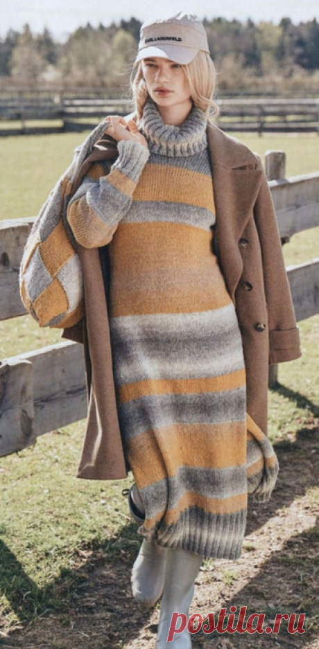 Верена 3 / 2021: оранжевое настроение, пуловеры, платья и кардиганы | Не от скуки, руки - крюки | Яндекс Дзен