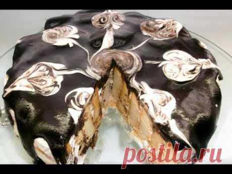 Торт Без Выпечки Из Печенья. Сочный, Мягкий, Вкусный Торт Без Выпечки.