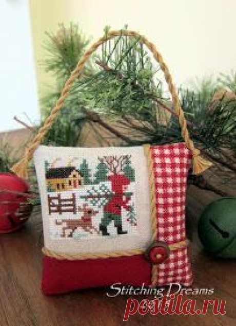 Вышивка крестиком к НГ и Рождеству