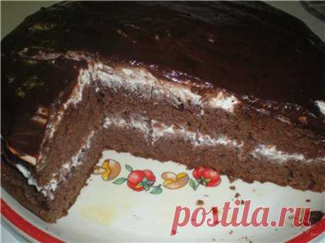 Chocolate cake. Discussion on Blogs on Work