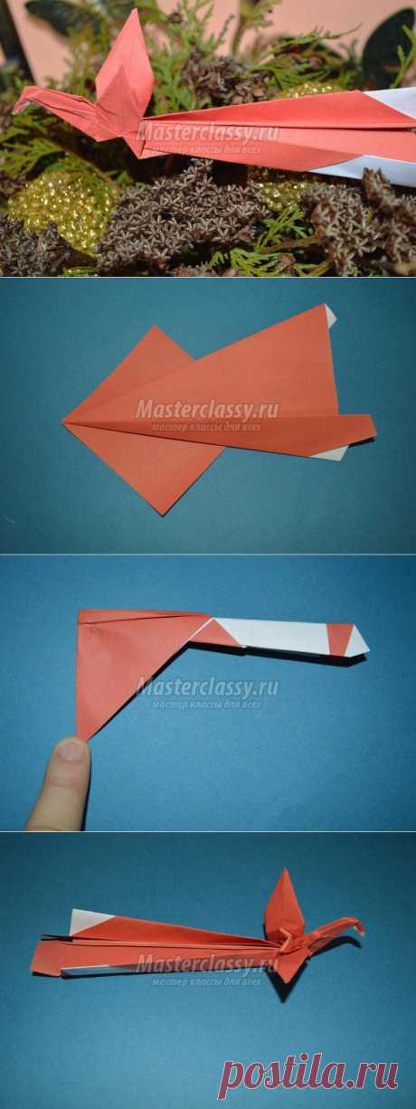 Оригами. Жар-птица. Мастер-класс с пошаговыми фото