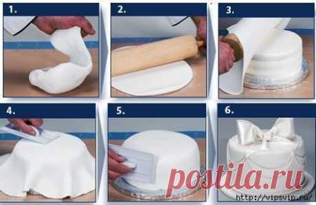 КРАСИВЕЙШАЯ мастика для торта своими руками│4 рецепта
