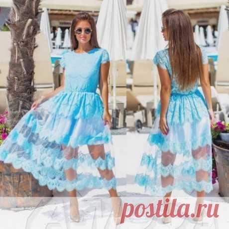 Нежное платье миди : безумно красивые платья смотри на сайте. Скидка всем. Доставка.