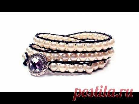 DIY: wrap bracelet \/ Twisted bracelet the hands
