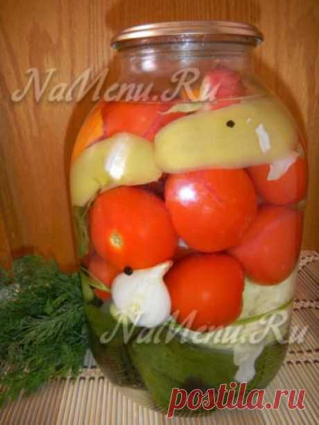 "Овощное ассорти на зиму ""Бабушкина грядка"""