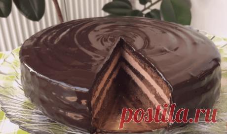 Торт «Прага» (бабушкин рецепт) очень вкусный и сочный