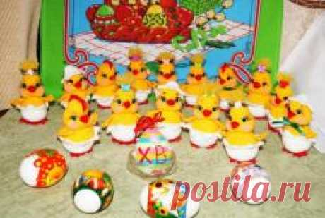 Easter tsyplyatka - MK on knitting of toys - the Forum of admirers of an amiguruma (a knitted toy)