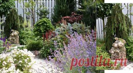 Как сделать очень красивый сад всего на двух сотках на Supersadovnik.ru