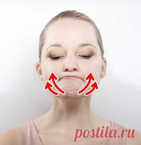 8 упражнений, чтобы избавиться от обвисших щек и изменить овал лица | Всегда в форме!