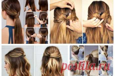 11 простых и стильных причёсок, которые можно сделать за пару минут — informed news 24