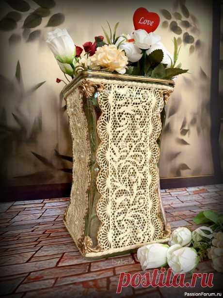 Декор ваз. | Декор. Работы пользователей