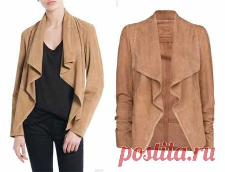 Jacket pattern from thin skin or jersey \u000a\u000a\u000a\u000a\u000a\u000a\u000a\u000a\u000aSource