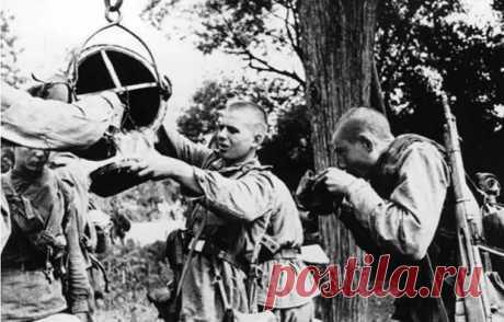Как Красная армия и вермахт очищали воду во время Великой Отечественной войны - Все об оружии - медиаплатформа МирТесен