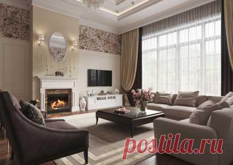 Очаровательная гостиная — Lodgers - Дизайн интерьера