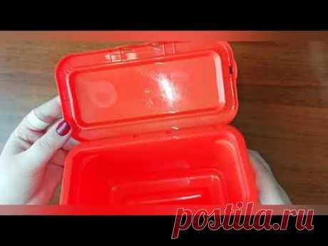 Не выкидывайте контейнеры от порошка/DIY/ИДЕЯ ПО УТИЛИЗАЦИИ
