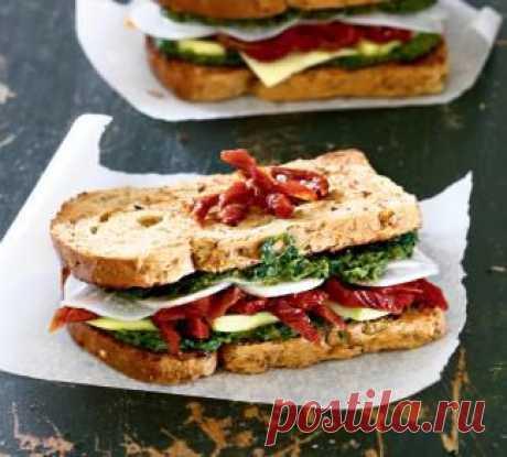 Самый полезный сэндвич, закуска. Пошаговый рецепт с фото на Gastronom.ru