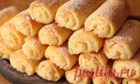 Творожное печенье с сахаром «Нежность» для милой хозяюшки