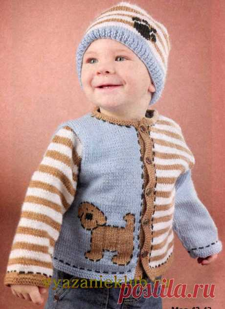 For children till 3 years - the Catalogue of files - Knitting for children