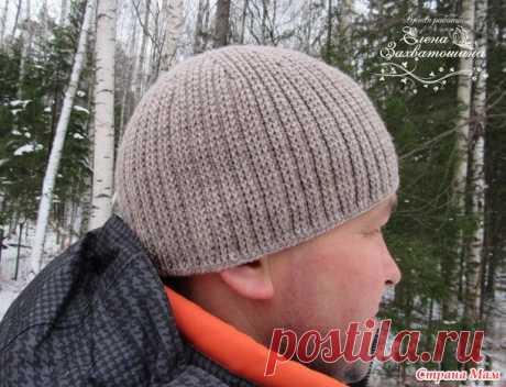 Мужская шапка крючком - Вязание - Страна Мам