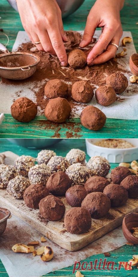Как приготовить шоколадно-кофейные трюфели. - рецепт, ингридиенты и фотографии