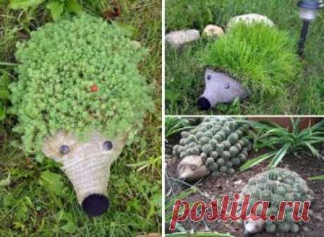 Невероятный декор для сада из пластиковой бутылки — Сделай сам, идеи для творчества - DIY Ideas