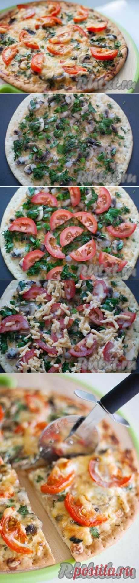 Пицца по-французски (рецепт с фото)   RUtxt.ru