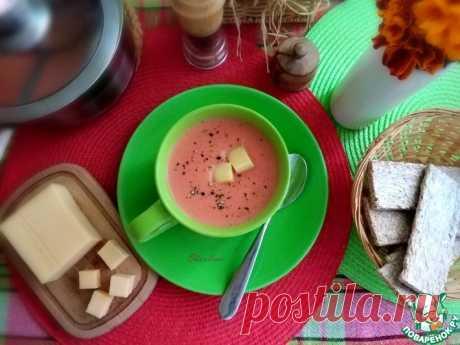 Свекольный крем-суп с сыром Кулинарный рецепт