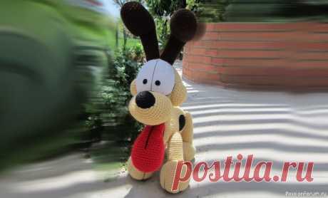 Собака от Erin Scull. МК | Вязаные игрушки. Мастер-классы, схемы, описание. Перевод : Любовь Костюнинаhttps://vk.com/sweetheartcrochet