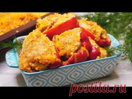 Самый удачный рецепт - Вкуснейшие Фаршированные перцы.