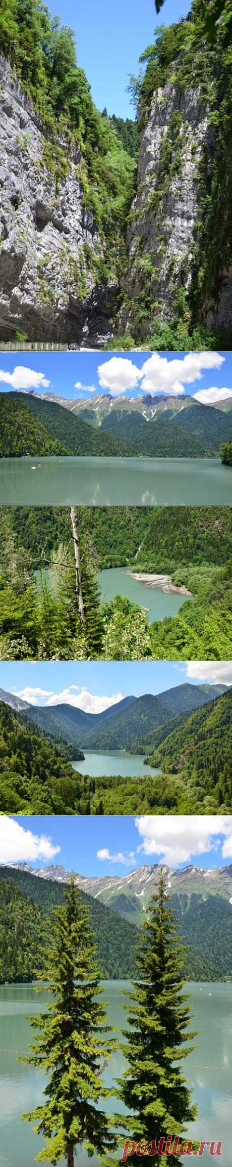 (+1) tema - la bella Montañosa - el lago Ritsa | el Fotoarte