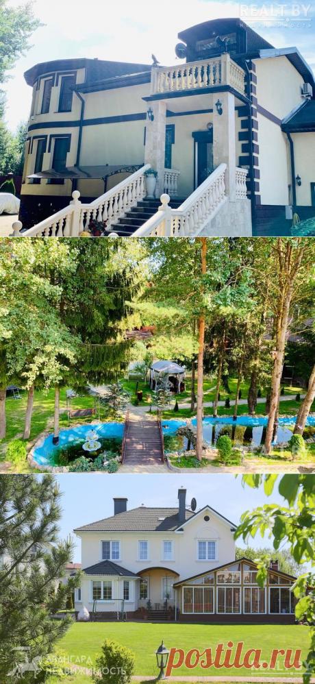 Теплицы миллионеров. Как выглядят дорогие дома спарниками под Минском   REALTY.TUT.BY